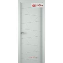 Межкомнатная дверь Svea (полотно глухое), Эмаль светло - серый 2000х600 Belwooddoors (Товар № ZF59174)