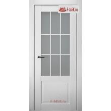 Межкомнатная дверь Амели (остекленное), Дуб бранта, Стекло: Сатин двусторонний каленый, 2000х600 Belwooddoors (Товар № ZF59368)
