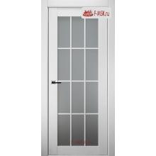 Межкомнатная дверь Анси (остекленное), Дуб бранта, Стекло: Сатин двусторонний каленый, 2000х700 Belwooddoors (Товар № ZF59191)