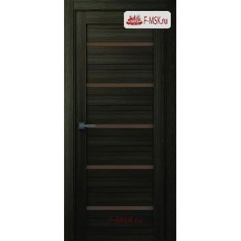 Межкомнатная дверь Модена (остекленное), Шимо, Стекло: Мателюкс бронза, 2000х600 Belwooddoors (Товар № ZF126153)