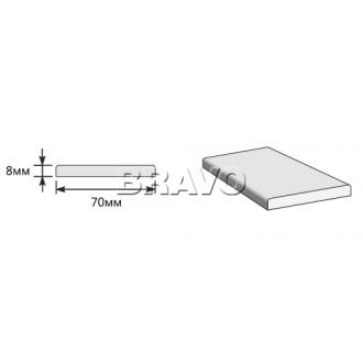 Наличник Прямоугольный 2150*70*8, Мастер-6, 3D Wenge (Товар №  ZA5385)