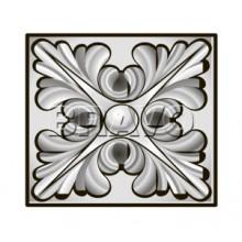 Декоративная накладка Тип-1, Шервуд, Д-23 (Белая) (Товар № ZA 2334)