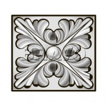 Декоративная накладка Тип-1, Шервуд, Д-21 (Белый Дуб) (Товар № ZA 2660)