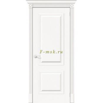 Дверь межкомнатная Вуд Классик-12 - в цвете Whitey Шпон натуральный (Товар № ZF165651)