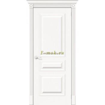 Дверь межкомнатная Вуд Классик-14 - в цвете Whitey Шпон натуральный (Товар № ZF165652)
