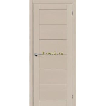 Дверь межкомнатная Вуд Модерн-21 - в цвете Latte Шпон натуральный (Товар № ZF165656)