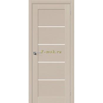 Дверь межкомнатная Вуд Модерн-22 - в цвете Latte Шпон натуральный (Товар № ZF165657)