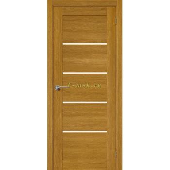 Дверь межкомнатная Вуд Модерн-22 - в цвете Natur Oak/Magic Fog Шпон натуральный (Товар № ZF165665)