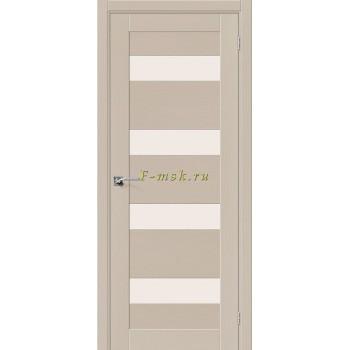 Дверь межкомнатная Вуд Модерн-23 - в цвете Latte Шпон натуральный (Товар № ZF165660)