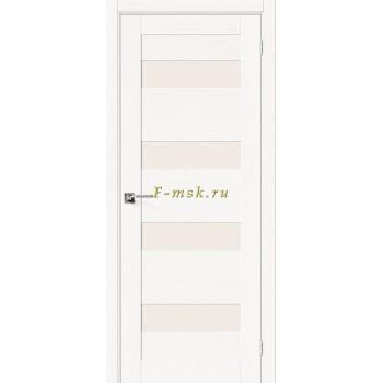 Дверь межкомнатная Вуд Модерн-23 - в цвете Whitey Шпон натуральный (Товар № ZF165661)