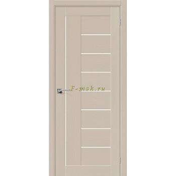 Дверь межкомнатная Вуд Модерн-29 - в цвете Latte Шпон натуральный (Товар № ZF165662)