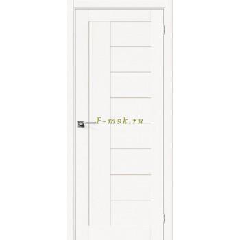 Дверь межкомнатная Вуд Модерн-29 - в цвете Whitey Шпон натуральный (Товар № ZF165663)