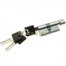 Цилиндр Bravo AРF-60-30/30 ключ/фиксатор в цвете C Хром. (Товар № ZF165636)
