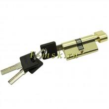 Цилиндр Bravo AРF-60-30/30 ключ/фиксатор в цвете G Золото. (Товар № ZF165637)