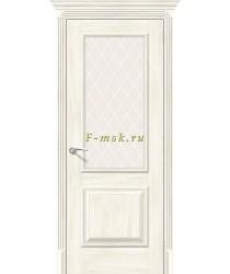Дверь межкомнатная экошпон Классико-13 в цвете Nordic Oak остекленная (Товар № ZF165669)