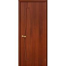 Межкомнатная ламинированная дверь 6Г итальянский орех BRAVO Цвет: Итальянский орех Глухая (Товар №  ZF972)