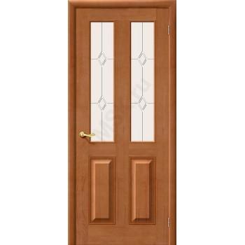 Межкомнатная дверь из Массива М15 ПО Светлый лак Белорусские двери Цвет: Светлый лак Остекленная (Товар №  ZF1224)