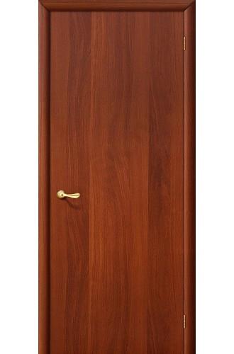 Межкомнатная ламинированная дверь Гост итальянский орех BRAVO Цвет: Итальянский орех Глухая (Товар №  ZF1272)