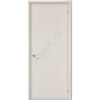 Межкомнатная ламинированная дверь Гост беленый дуб BRAVO Цвет: Беленый дуб Глухая (Товар №  ZF1273)