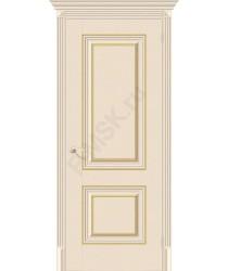 Дверь экошпон Классико-32G-27 в цвете Ivory (Товар № ZF113995)