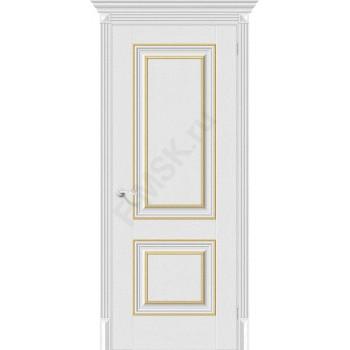 Дверь экошпон Классико-32G-27 в цвете Virgin (Товар № ZF113996)