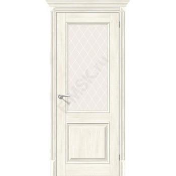Дверь экошпон Классико-33 в цвете Nordic Oak остекленная (Товар № ZF114000)