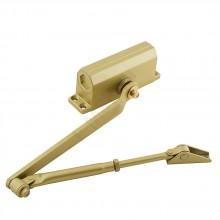 Доводчик дверной DC60 (II) золото. 60 кг BRAVO Цвет: Золото  (Товар №  ZF7102)
