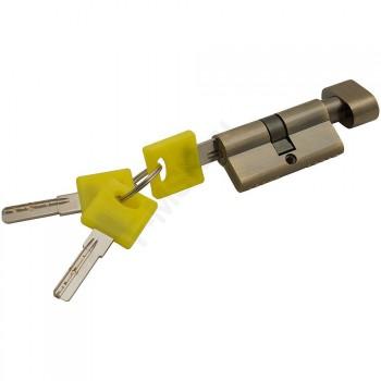 Цилиндр Ключ/фиксатор ZF-60-30/30 AB Бронза  (Товар №  ZF16383)