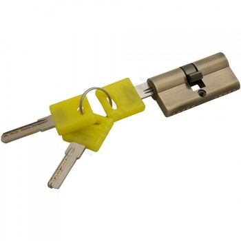 Цилиндр Ключ/ключ ZK-60-30/30 AB Бронза  (Товар №  ZF16379)