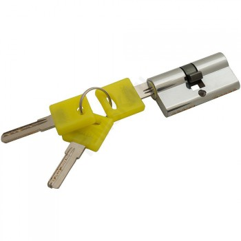 Цилиндр Ключ/ключ ZK-60-30/30 C Хром  (Товар №  ZF16378)