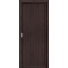 Межкомнатная дверь с Эко шпоном Твигги M1 Wenge Veralinga el`PORTA  (Товар №  ZF16364)