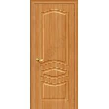 Межкомнатная дверь с ПВХ-пленкой Модена ПГ, миланский орех BRAVO Цвет: Миланский орех Глухая (Товар №  ZF4244)