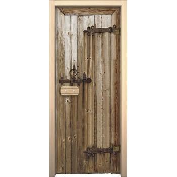 Дверь для бани и сауны Дерево «Glassjet» АКМА Стеклянная (Товар №  ZF4303)
