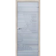 Грация Белое Сатинато - стеклянная межкомнатная дверь АКМА  (Товар №  ZF4295)