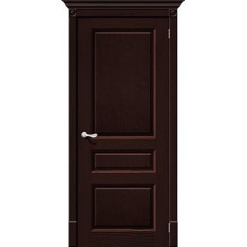 Межкомнатная дверь из Массива Леонардо ПГ Венге Vi LARIO Цвет: Венге Глухая (Товар №  ZF7116)