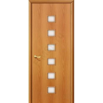 Межкомнатная ламинированная дверь 1с миланский орех BRAVO Цвет: Миланский орех Остекленная (Товар №  ZF7130)