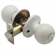 Дверная ручка-защелка 6072 белый Цвет: Белый  (Товар №  ZF7191)