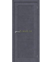 Дверь межкомнатная экошпон Легно-21 в цвете Graphite Art (Товар № ZF165670)