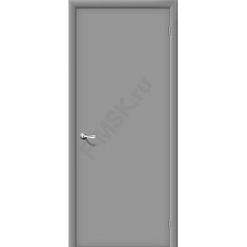 Межкомнатная ламинированная дверь Гост серый BRAVO Цвет: Серый Глухая (Товар №  ZF7280)