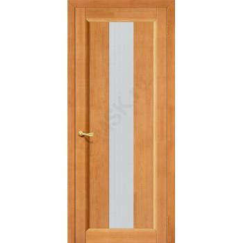 Межкомнатная дверь из Массива Вега-18 ПО светлый орех Vi LARIO Цвет: Светлый орех Остекленная (Товар №  ZF8949)
