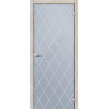 Кристалл Белое Сатинато - стеклянная межкомнатная дверь АКМА  (Товар №  ZF8958)
