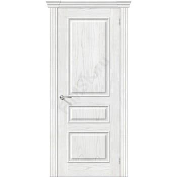 Межкомнатная шпонированная дверь Сорренто ПГ Жемчуг BRAVO Люкс Цвет: Жемчуг Глухая (Товар №  ZF8969)
