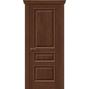 Межкомнатная шпонированная дверь Вена ПГ Виски BRAVO Люкс Цвет: Виски Глухая (Товар №  ZF8974)