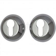 Накладка цилиндровая на круглой розетке A/Z-4CL хром  (Товар №  ZF9020)