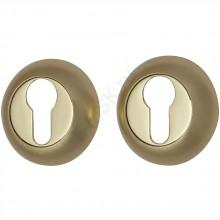 Накладка цилиндровая на круглой розетке A/Z-4CL матовое золото  (Товар №  ZF9022)