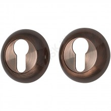 Накладка цилиндровая на круглой розетке A/Z-4CL медь  (Товар №  ZF9023)