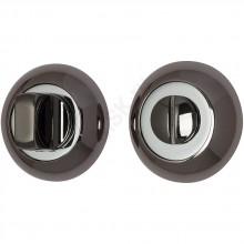 Фиксатор на круглой розетке A/Z-4WC черный никель  (Товар №  ZF9051)