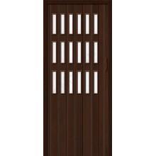 Межкомнатная раздвижная дверь (Гармошка) Браво-018 венге BRAVO   (Товар №  ZF16315)