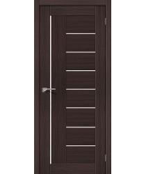 Межкомнатная дверь с эко шпоном Порта-29 ПО Wenge Veralinga el`PORTA Цвет: Wenge Veralinga Остекленная (Товар №  ZF10538)