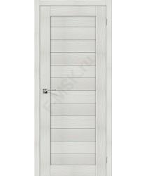 Межкомнатная дверь с эко шпоном Порта-21 ПГ Bianco Veralinga el`PORTA Цвет: Bianco Veralinga Глухая (Товар №  ZF10529)